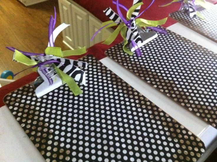 scentsy party ideas | Some clipboards I decorated for my Scentsy parties! I love how they ...
