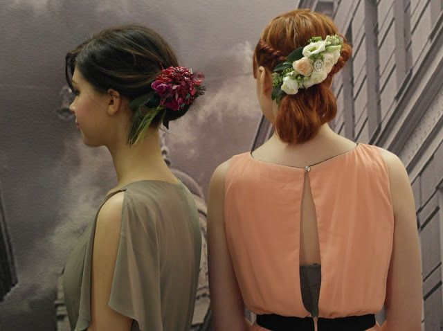 Kevin Murphy ja kesätuulet 2016 | Kristallikimara - #Janne_Caro from #ParoneDesign made #hairaccessories of real Flowers and crystals.