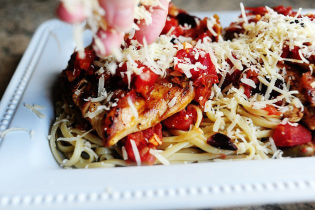 Pantry Pasta for two, by Ree Drummond / The Pioneer Woman, via Flickr
