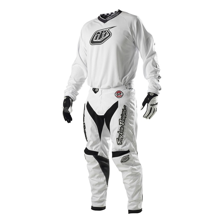 2013 Troy Lee Gp Motocross Kit Combo - White Out - 2013 Troy Lee Motocross Kit Combos - 2013 Troy Lee Motocross Kits - 2013