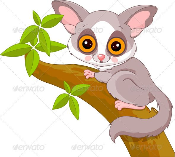 Iclone 5 Cartoon Characters : Fun zoo galago zoos clip art and journal