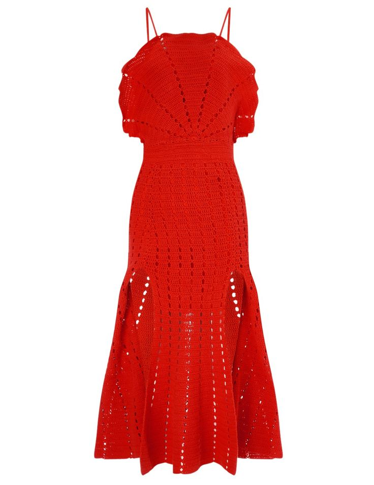 Red Room Is On Fire Dress Alice McCall