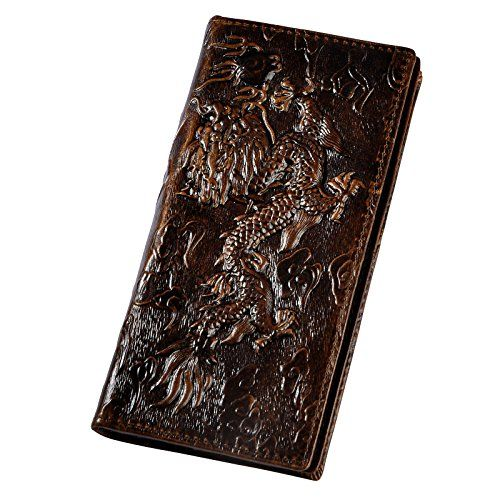 New Le'aokuu Mens Real Leather Bifold Organizer Checkbook Wallet Cash Holder Brown 1014 online. Find the perfect Fossil Mens-Wallets from top store. Sku jxhs81445rivk64469