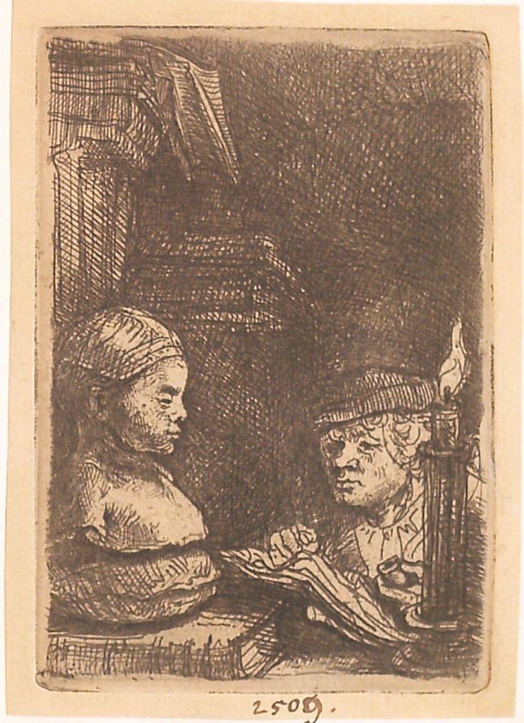 """Desenatorul, cca 1641. Imagine din colecțiile Bibliotecii """"V.A. Urechia"""" Galați."""