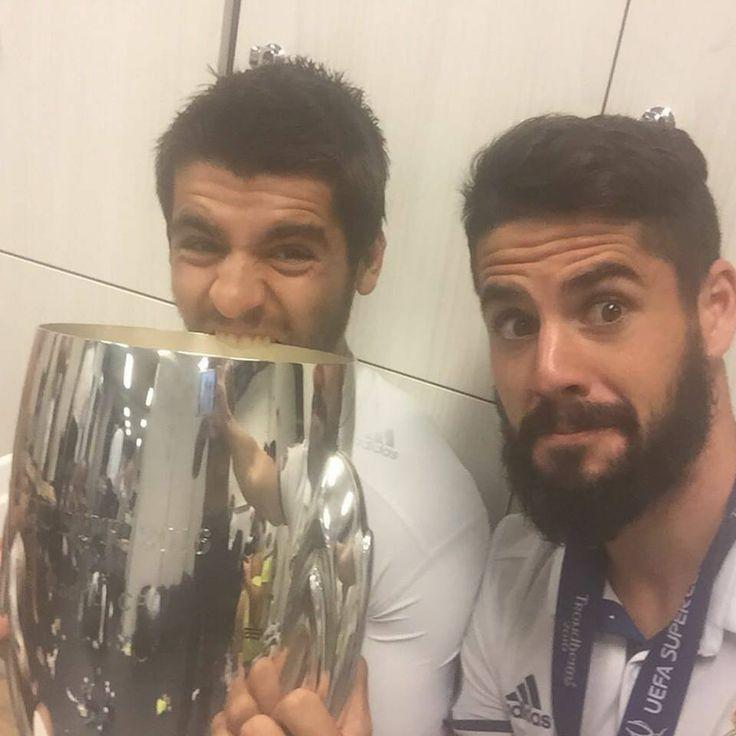 Morata and Isco