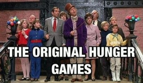 Willy Wonky Hunger Games :-)