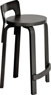 Artek K65 High Chair with Colored Frame | 2Modern Furniture & Lighting