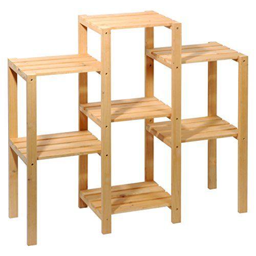 dobar 29162fsc dekoratives blumenregal aus fsc kiefer gr ne beete. Black Bedroom Furniture Sets. Home Design Ideas