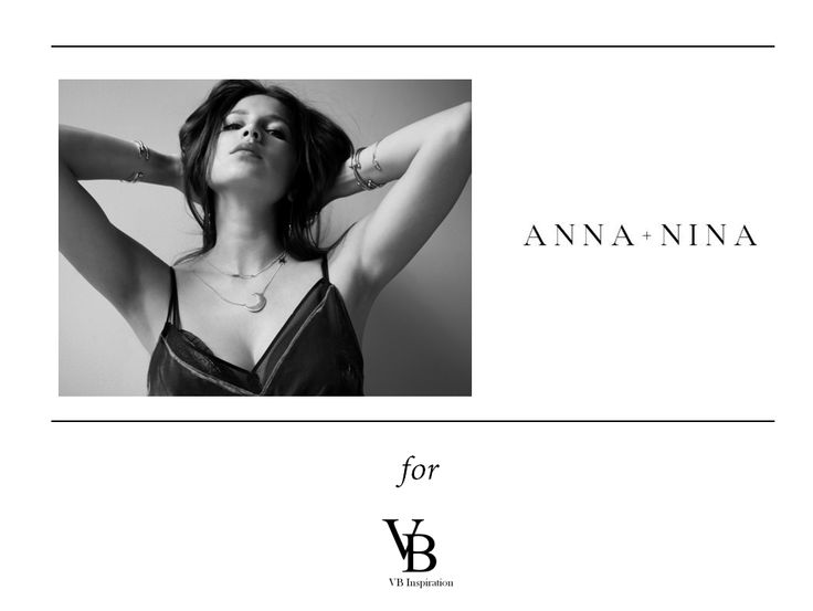 Anna+ Ninna Labels, just fine and minimalist jewellery, for the ready-to-go woman!