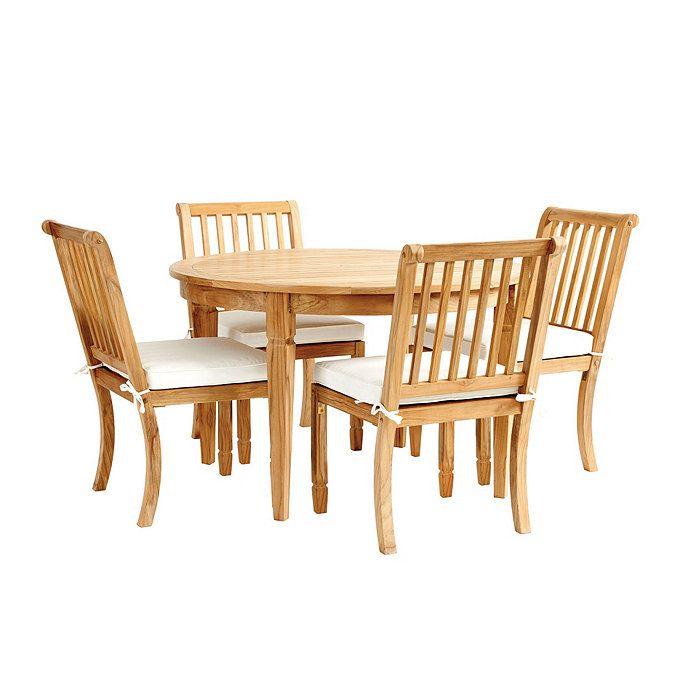Madison 5-Piece Round Dining Set | Ballard Designs