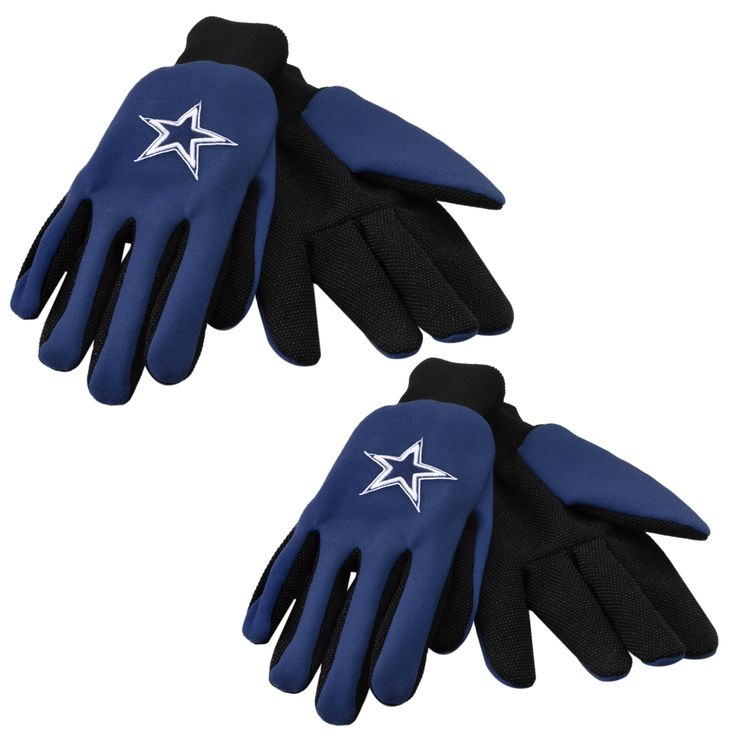 Forever Collectibles Dallas Cowboys Two-tone Work Gloves