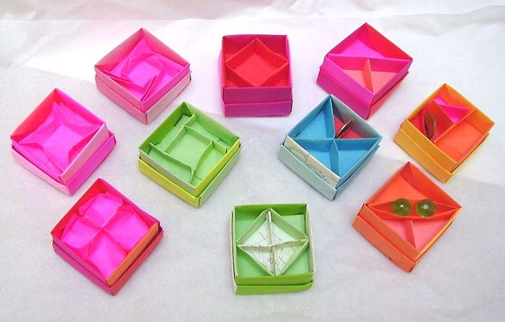 Even more origami box dividers by wombat1138