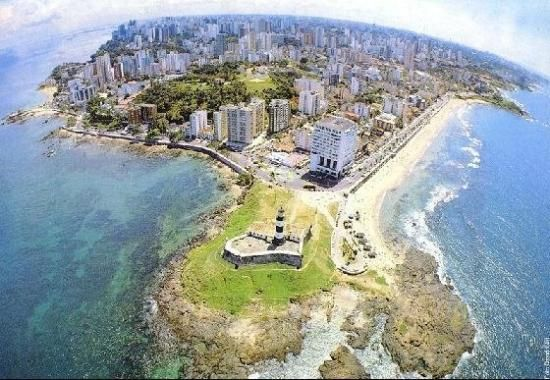 Salvador de Bahia, Brazil. What an amazing city right by the ocean!