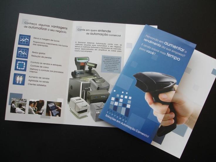 Desenvolvimento de arte para folder exclusivo  por COLA design Comunicação Visual Curitiba - PR