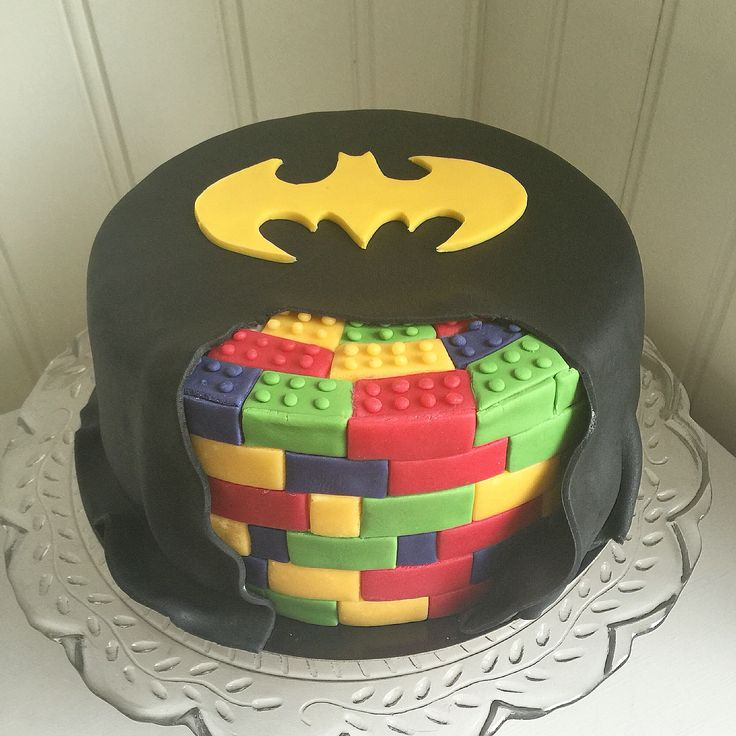 Lego Batman cake made by V.A Cakes