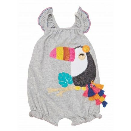Toucan Bubble by Mud Pie (12-18 months)