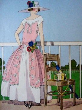 la_gatta_ciara | Robe de Style – кринолин 20 – х годов