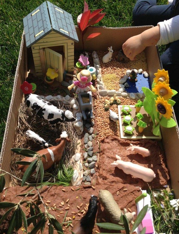 Ферма в коробке для детей