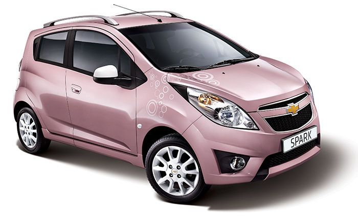 Pink Lady, the feminine side of the Chevrolet Spark
