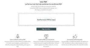 Cómo unir varios archivos PDF en un solo documento