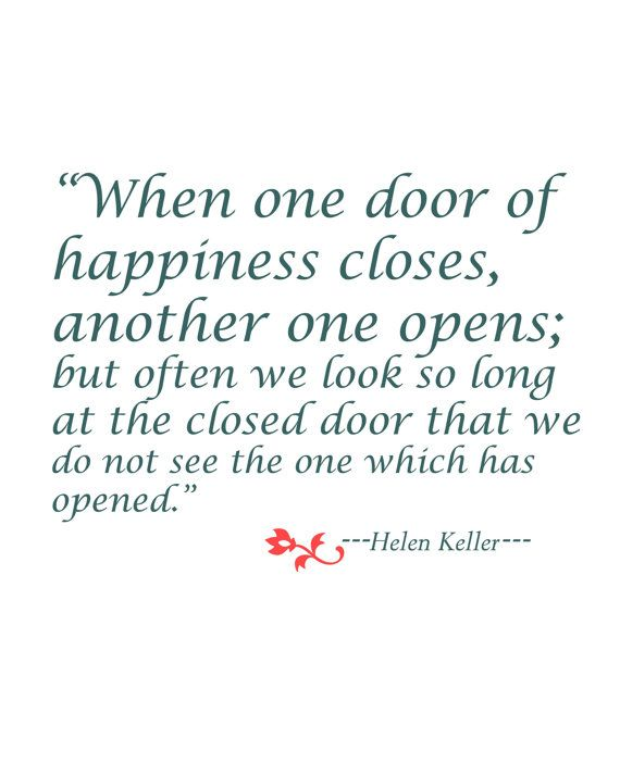 Items similar to Helen Keller Quote Prints, Printable Quote, Inspirational Quote,Wall Art Decor on Etsy
