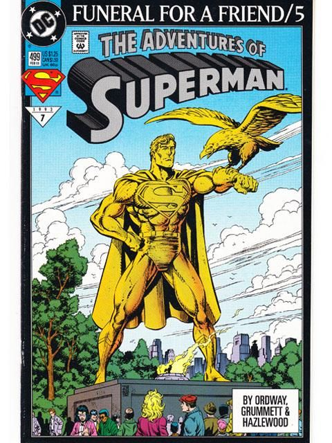 The Adventures Of Superman Issue 499 DC Comics Back Issues Superman Story, Superman Comic Books, Superman Family, Dc Comic Books, Comic Book Covers, Comic Art, Dc Comics, Action Comics 1, Lana Lang
