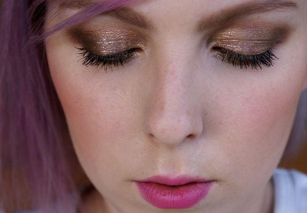 Dnešní Makeup: Foil of Gold