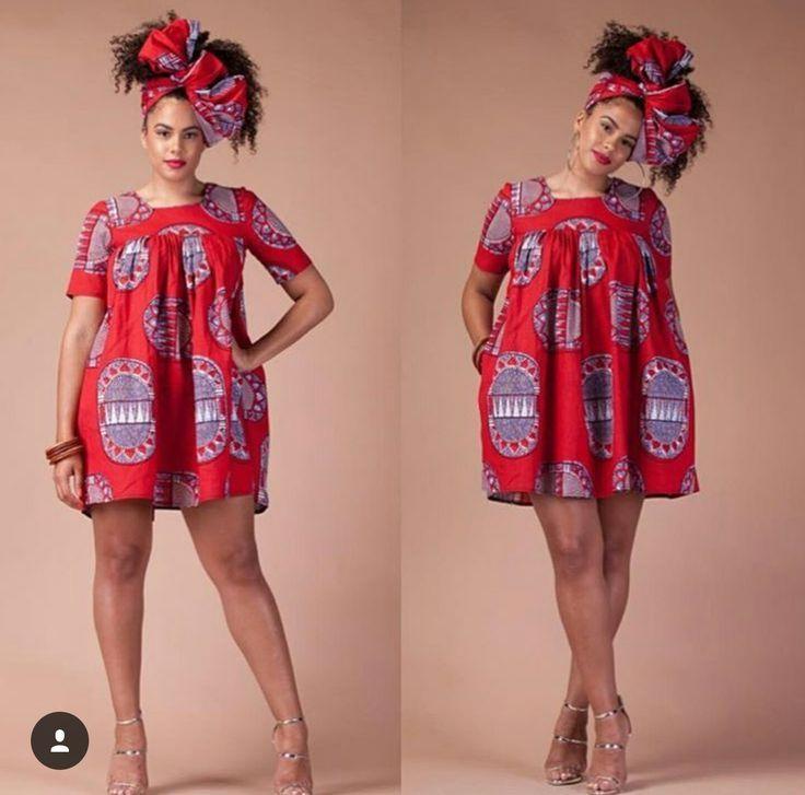 736 727 African Fashion Short Pinterest Robe Wax
