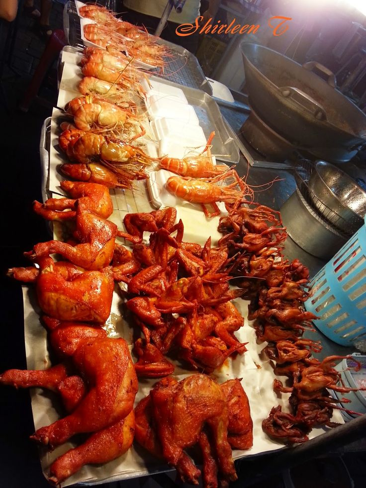 Crisp of Life: Night Market @ Hatyai, Thailand