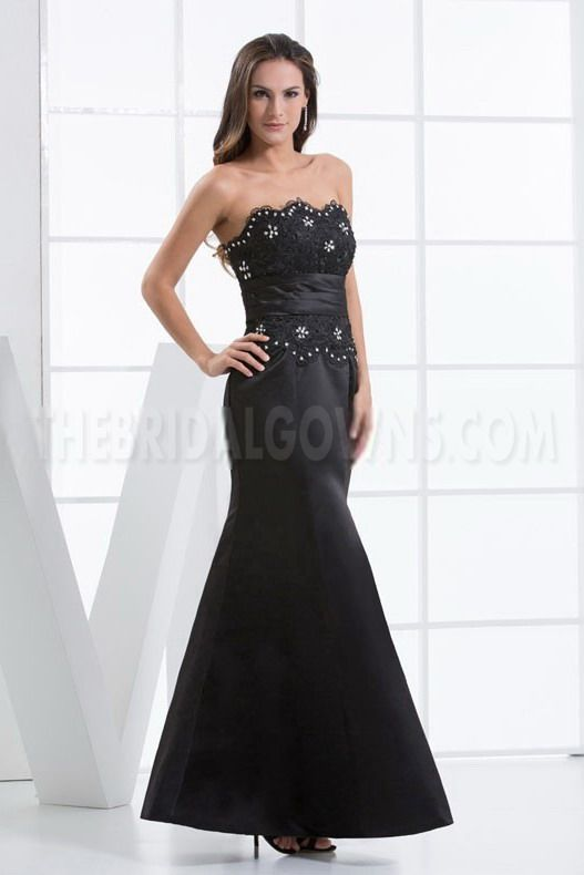 Sweet Sheath Column Strapless Evening Gown - Order Link: http://www.thebridalgowns.com/sweet-sheath-column-strapless-evening-gown-tbg4630 - SILHOUETTE: Sheath/Column; SLEEVE: Sleeveless; LENGTH: Floor Length; FABRIC: Satin; EMBELLISHMENTS: Beading - Price: 160USD