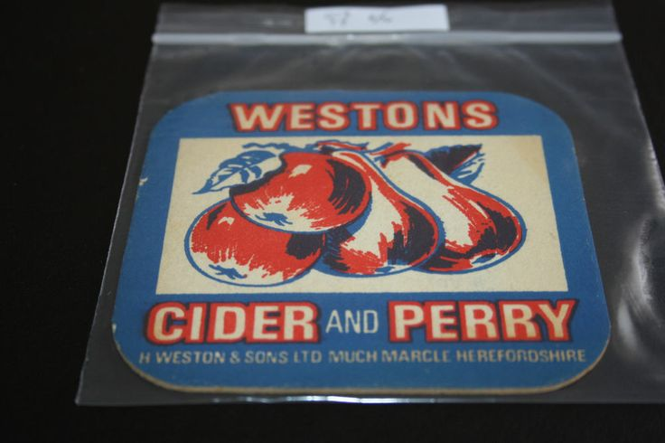 19?? Beermat Westons Cider and Perry Cat 012 (NT 1L66)