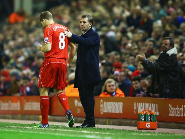 Brendan Rodgers quiet on speculation linking Steven Gerrard to Celtic