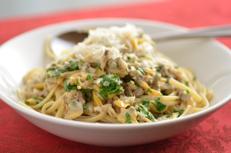 Linguine with Clams, from our Balanced meal plan. Make it tonite, in ...