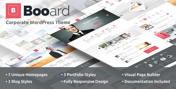 nice Booard - Corporate WordPress Theme (Corporate)