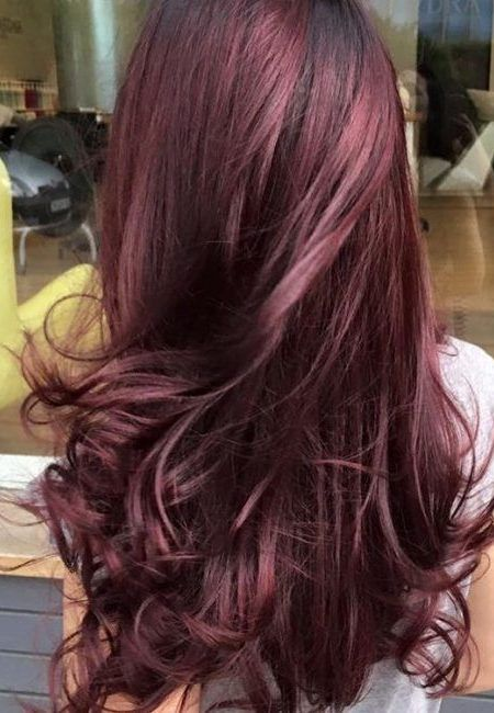 its like a ashy black cherry ... i kinda love this   2017 Black-Cherry Hair Color Ideas for Females – Best Hair Color Trends 2017 – Top Hair Color Ideas for You