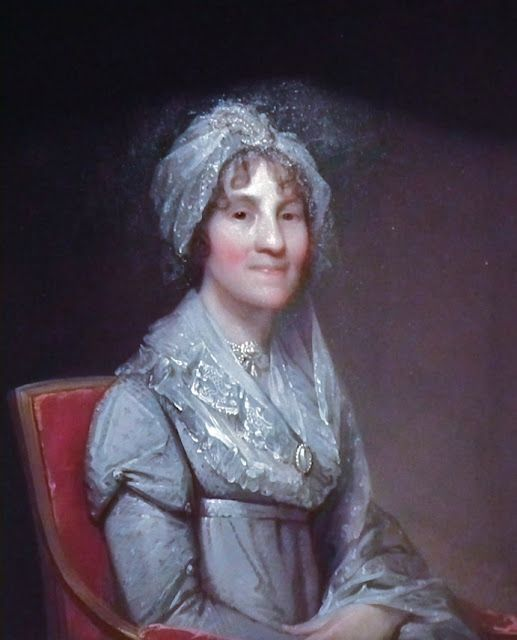 """Mrs. Sarah Parkman"" by Gilbert Stuart (1810)"