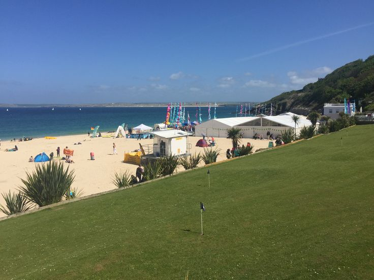 St Ives Food and Drink Festival is held on Porthminster Beach, St Ives.  Easily accessible on foot from St Ives town and a prominent position as you descend from the Southwest Coastal Path with Carbis Bay behind you.  #StIvesFDFestival