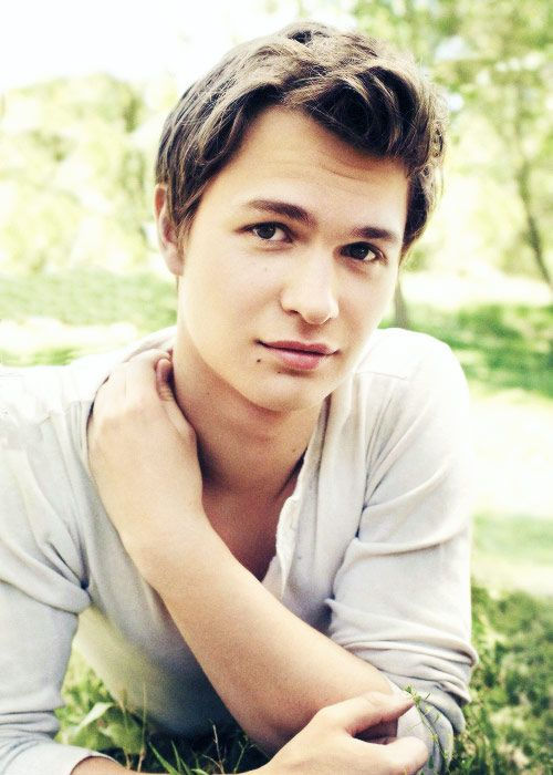 "|FC: Ansel Elgort| ""Hey I'm Caleb. I'm a Timber wolf and I'm 19. I am single.  love to run and I'm kinda playful. Intro?"""