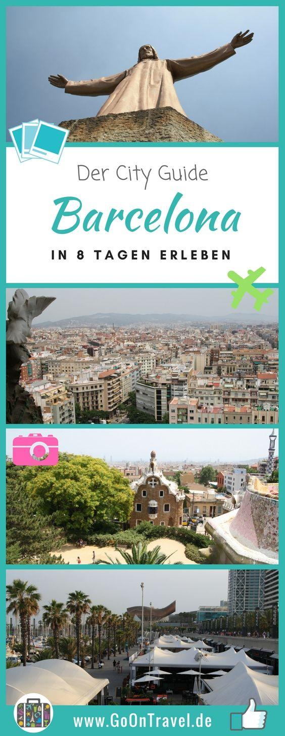 Alle wichtigen Informationen, Tipps und Sehenswürdigkeiten zu Barcelona für deine Städtereise.  #Barcelona #BarcelonaTipps #BarcelonaSehenswürdigkeiten #BarcelonaInformationen