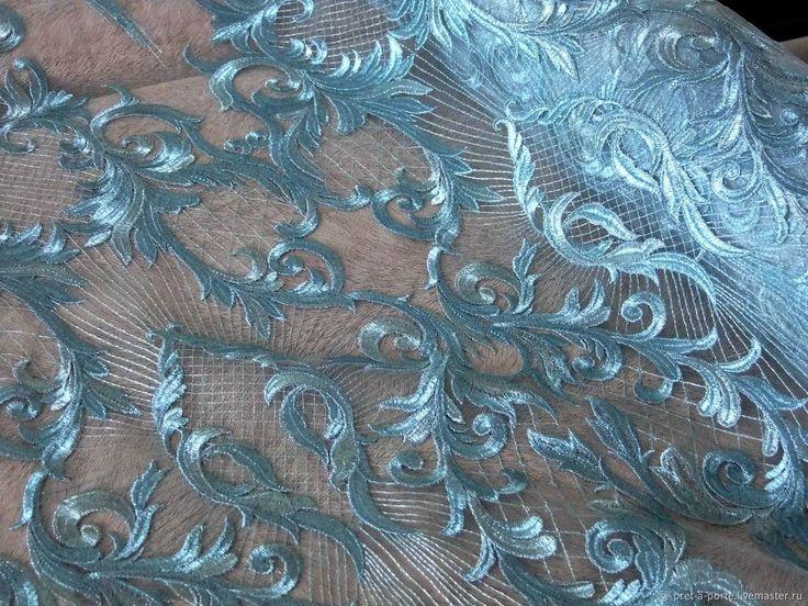 Купить Alta moda вышивка на сетке, Италия в интернет магазине на Ярмарке Мастеров