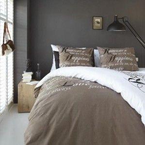 Pościel - Bedding House - Happiness Taupe