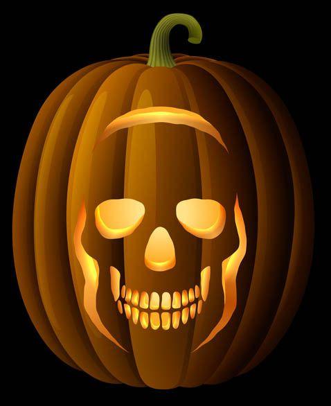 44 best images about spooky pumpkin carving ideas on pinterest for Skull pumpkin carving ideas