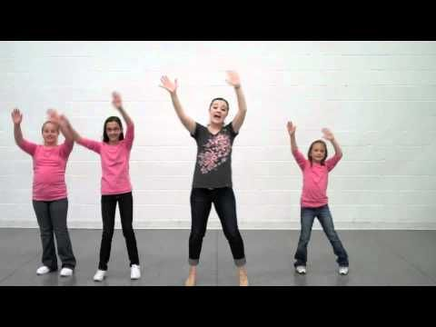I'd Rather Be Happy - Choreography - MusicK8.com The teacher in the video goes through each phase at the end of the dance for the kids to learn. (15min long)