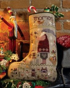 Hand made Christmas stockings #myhappychristmas @White Stuff UK