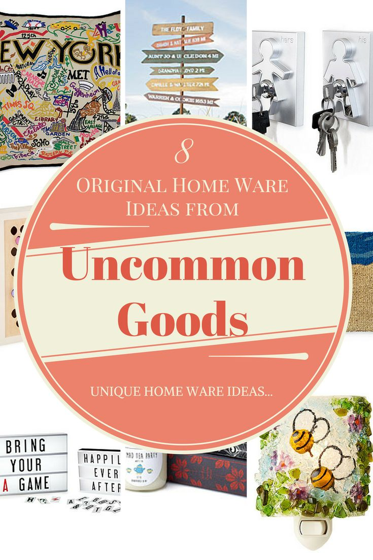Looking for original home ware to start the conversation with your guests? Uncommon good works with small businesses and local artists to provide a smorgasbord of unique and beautiful pieces for the home...