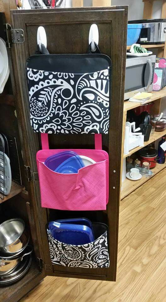 Get your kitchen organized with Oh snap pockets found at www.mythirtyone.com/ashleyhancock
