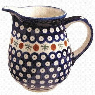 Euroquest Imports Polish Pottery 28 oz PitcherDining Room, Important Polish, Coffee Pots, Euroquest Important, Pitcher Perfect, Diseño Clásico, Kitchens Details, Polish Pottery, Bella Mesa