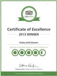 Trip Advisor Certification for 2013!
