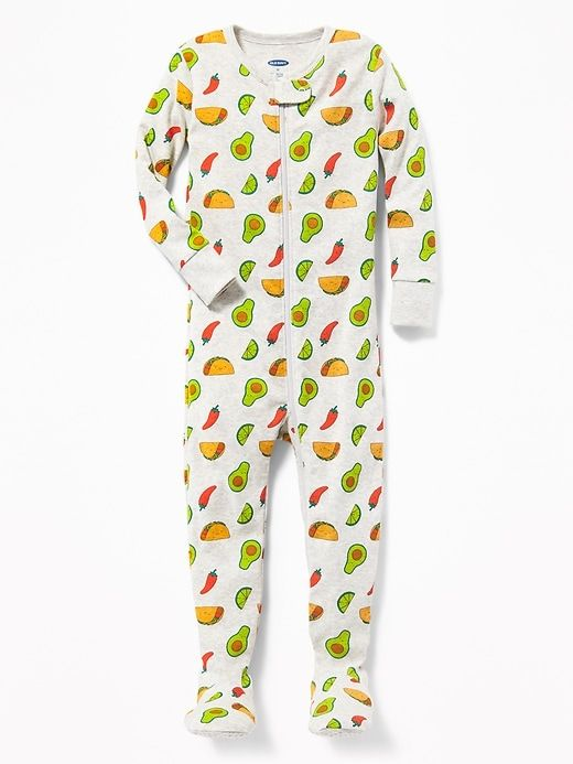 51fc79b659f8 Taco Print Footed Sleeper for Toddler   Baby