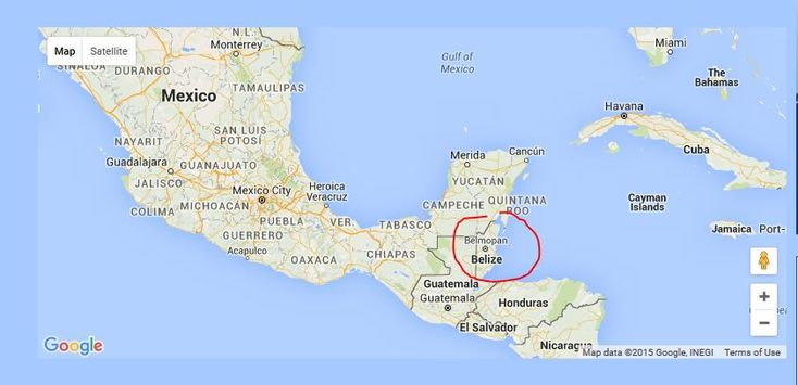 where is Belize located
